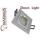 OPRAWA KWADRAT RUCHOMA DOWN LIGHT CT-8363