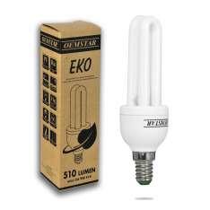 Świetlówka energooszczędna OEMSTAR 2U T3 9W E14 2700K SE7449 Sanico