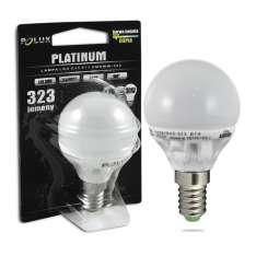 Żarówka LED POLUX G45 E14 1:1 SMDWW 3,9W 323lm ceramic mleczna