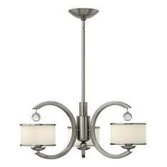 Monaco 3Lt Chandelier HK/MONACO3  Elstead lampa wisząca nowoczesna (HK/MONACO3 )