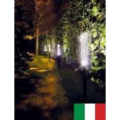 BUBBLED 3501 EGOLUCE LAMPA ZEWNĘTRZNA LED WŁOSKA ALUMINIUM ANODOWANE/ STAL O PODWYŻSZONEJ ODPORNOŚCI