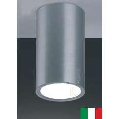 FOKUS 5175 EGOLUCE LAMPA SUFITOWA NOWOCZESNA WŁOSKA BIAŁA/ ALUMINIUM ANODOWANE
