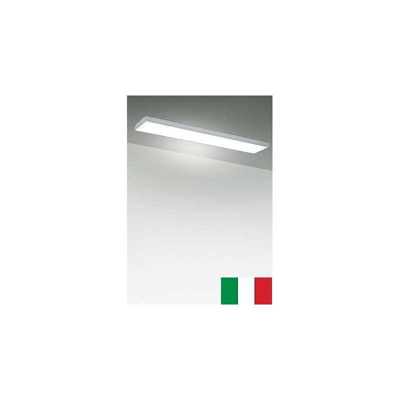 POP FLUO 5138 EGOLUCE LAMPA SUFITOWA NOWOCZESNA WŁOSKA ALUMINIUM IP40