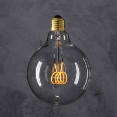 Maximums Design Żarówka dekoracyjna Globe 125 LED 4W - Flexi LED Loop Lampa Lampa