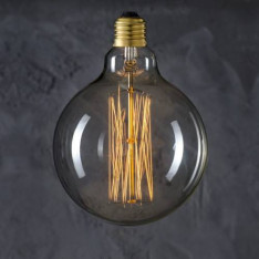 Maximums Design Żarówka dekoracyjna Globe 125 Straight 60W Lampa Lampa