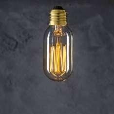 Maximums Design Żarówka dekoracyjna Tube T45 40W Lampa Lampa