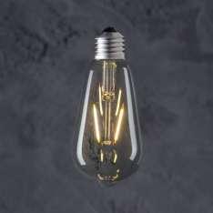 Maximums Design Żarówka dekoracyjna Edison ST 64 LED 2W GAT II Lampa Lampa