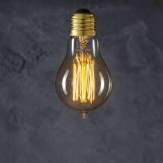 Maximums Design Żarówka dekoracyjna Standard A60 Straight 60W Lampa Lampa