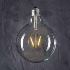 Maximums Design Żarówka dekoracyjna Globe 125 LED 2W GAT II Lampa Lampa