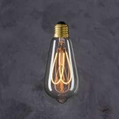 Maximums Design Żarówka dekoracyjna Edison ST 64 Flexi LED - UU Lampa Lampa