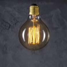 Maximums Design Żarówka dekoracyjna Globe 80 Straight 40W Lampa Lampa