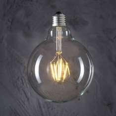 Maximums Design Żarówka dekoracyjna Globe 125 LED 4W GAT II Lampa Lampa