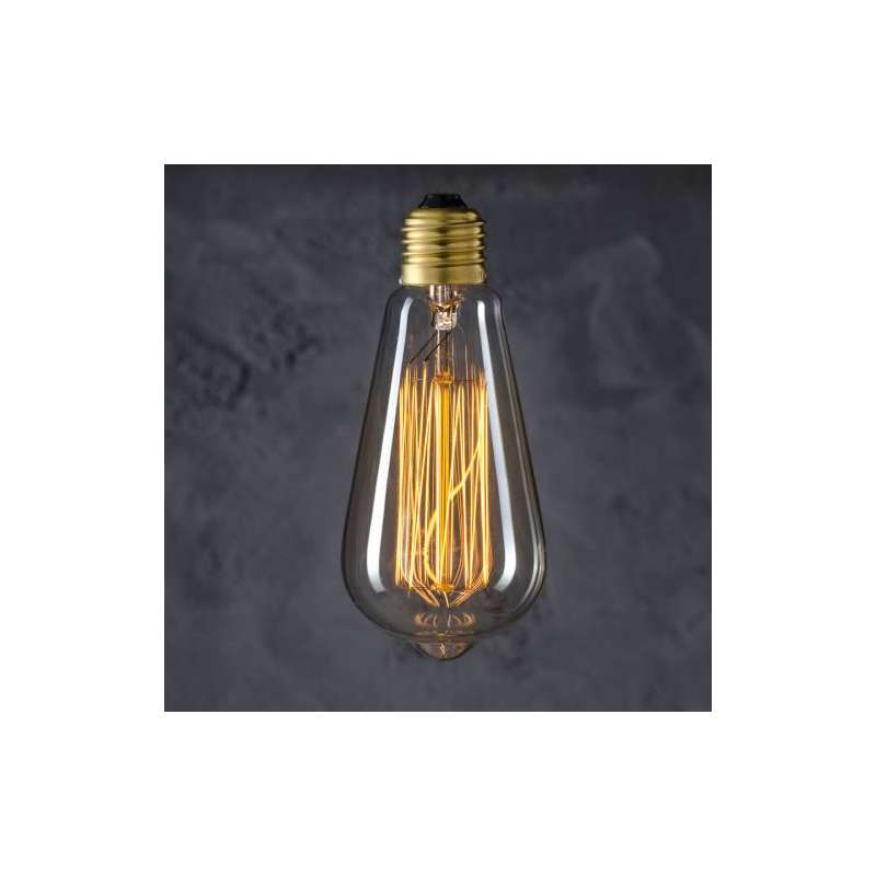 Maximums Design Żarówka dekoracyjna Edison ST 64 60W GAT II Lampa Lampa
