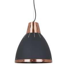Lampy wiszące Merton MD-HN8209 BK+RC Czarny, piaskowany, czerwona miedź Maximus Design