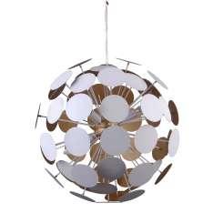 Lampy wiszące Mailone AD20180/6B WH+GD Biały, złoty