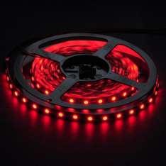 Taśma LED-5050 300 Czerwona 10mm wod.