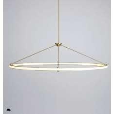 Roll & Hill Halo Oval Pendant lampa wisząca