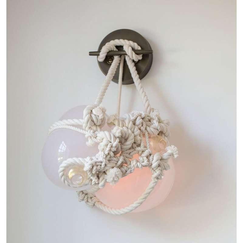 Roll & Hill Knotty Bubbles Sconce Small lampa ścienna/kinkiet