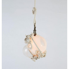 Roll & Hill Knotty Bubbles Pendant Small lampa wisząca