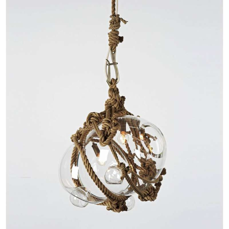 Roll & Hill Knotty Bubbles Pendant Large lampa wisząca