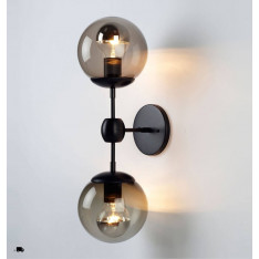Roll & Hill Modo Sconce 2 Globes lampa ścienna/kinkiet