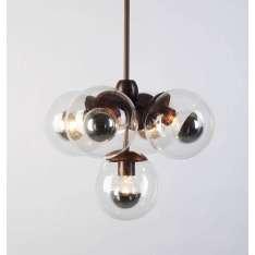 Roll & Hill Modo Pendant 5 Globes lampa wisząca