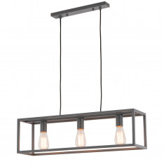 Lampy wiszące Sigalo MD-BR4367-D3 GR Szary, piaskowany Maximus Design