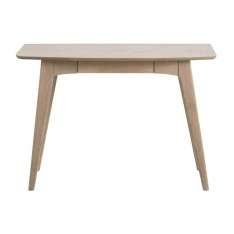 ACTONA biurko WOODSTOCK dąb bielony - MDF, drewno naturalne Maximus Design