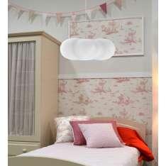 NEW GARDEN lampa wisząca CLAUDY HANG biała Maximus Design