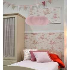 NEW GARDEN lampa wisząca CLAUDY HANG różowa Maximus Design