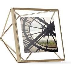 UMBRA ramka na zdjęcia PRISMA 10x10 cm - złota Maximus Design