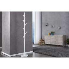 Wieszak stojący TREE biały - metal Maximus Design