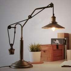 Victorian Loft Table - lampa stołowa retro