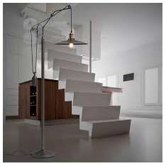 Victorian Loft Floor - lampa podłogowa retro