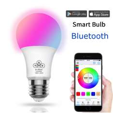 Żarówka Smart Bulb LED bluetooth 4,5W RGB