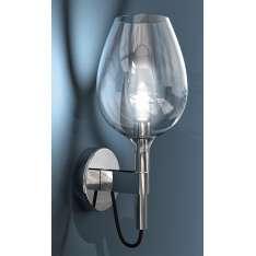 Wineglass - kinkiet chrom