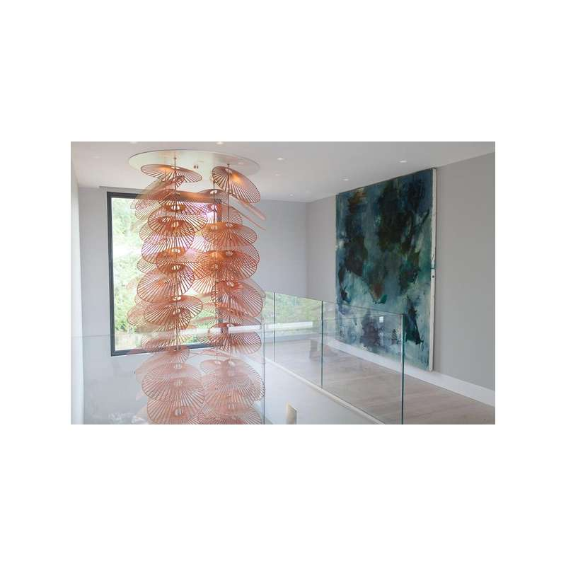 Lampa inspirowana by luum leaf