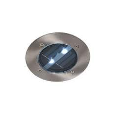 LUC SOLAR Round D12 2xLED Satin Chrome 14874/01/12 Lucide