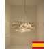 LAMPA WISZĄCA HISZPAŃSKA NOWOCZESNA (209NE04)