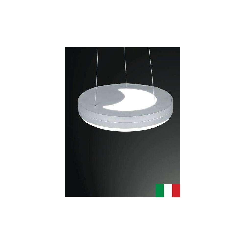 RONDO 1141 EGOLUCE LAMPA WISZĄCA WŁOSKA NOWOCZESNA BIAŁY