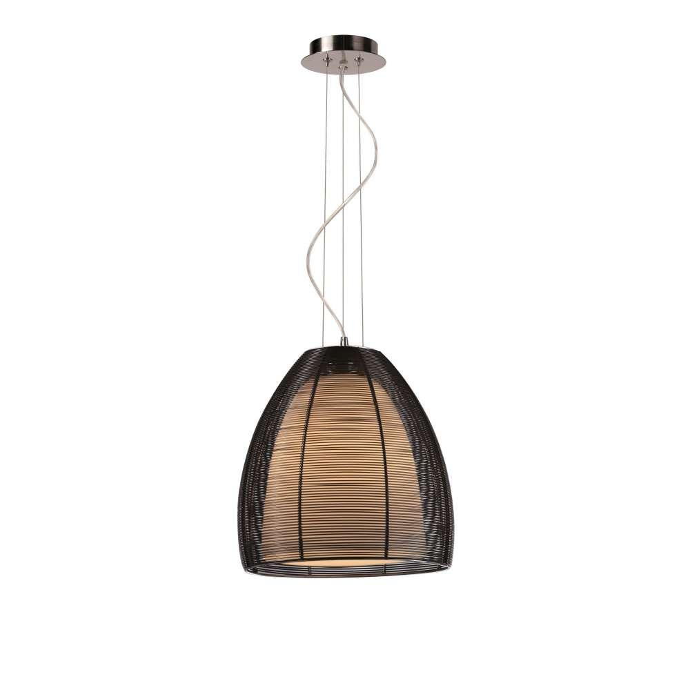 PICO MD9023 1L (BLACK) Zuma Line. Lampa wisząca czarna