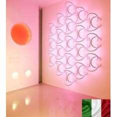 WALL PIERCING 4X SA5022 FLOS SOFT ARCHITECTURE KINKIET WŁOSKI NOWOCZESNY LED