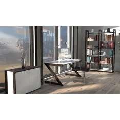 Soft-Line Main Desk 816-01-W Unique stolik biurowy / biurko