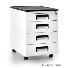 Kontener 325-w Unikue szafka biurowa biała